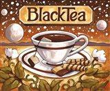 Tea Time Black Tea Art Print
