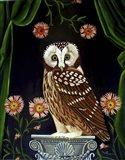 Owl Guardian Print Art Print