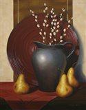 Still Life with Black Vase Art Print