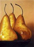 Three Pears on Stonehenge Art Print