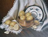 Lemons & Lace Art Print