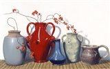 Vases And Vines Art Print