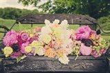 Flower Bench Art Print