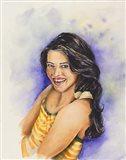 Chip on Her Shoulder Art Print