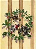 Rosebreasted Grosbeaks Art Print