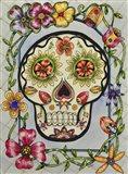Dia de los Muerton con Flores Art Print