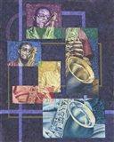 Blue Note Jazz Art Print