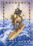 Ride The Wave Art Print