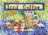 Iced Coffee Art Print