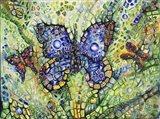 Butterfly & Friends Art Print