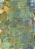 Texture - Green Art Print