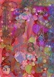 Texture - Red 8 Art Print
