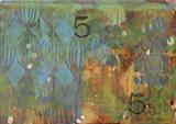Texture - Blue 5 Art Print