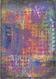 Texture - ABC Art Print