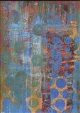 Texture - Blue Dots Art Print