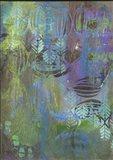 Texture - Cool Art Print