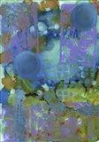 Texture - Blue Art Print
