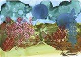 Texture - Blue Sky Art Print