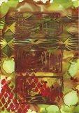 Texture - Brown Green Art Print