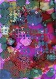 Texture - Pink Blue Art Print