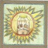 Sun Brewed Art Print