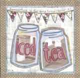 Iced Tea Art Print