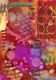 Texture - Orange Art Print