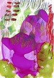 Texture - Purple Art Print