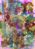 Texture - Confetti Art Print