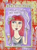 Good Attitude Art Print
