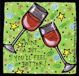 Wine A Bit Art Print