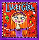 Lucky Girl Art Print