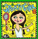 Sporty Girl Art Print