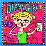 Drama Girl Art Print