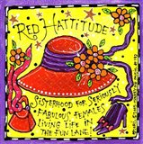 Red Hattitude Art Print