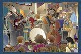 Jazzband 2 Art Print