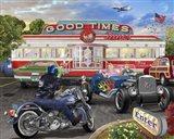 Good Times Diner Art Print