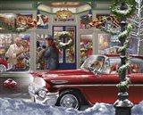 Last Minute Christmas Art Print