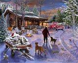 Winter Refuge Art Print