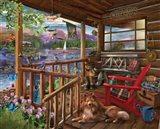 Porch Life Art Print