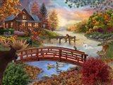 Autumn Evening Art Print