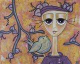 She Lived Kindly Art Print