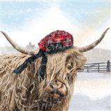 Highland Cow 2 Art Print