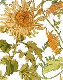 Autumn Garden I Art Print