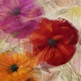 Penchant For Poppies I Art Print