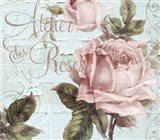 Atelier De Roses Art Print