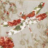 Winged Tapestry III Art Print