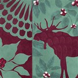Woodland Winter II Art Print