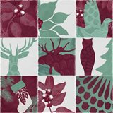 Woodland Winter V Art Print