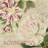 Lovingness Art Print